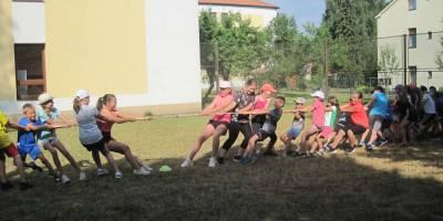 Sportovní dopoledne - 1. stupeň