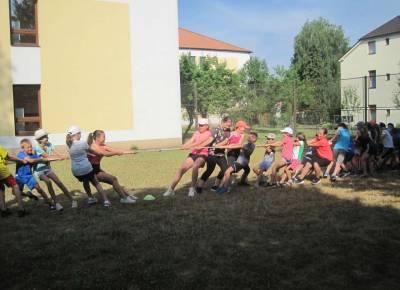 Úvodní fotka ke zprávě: Sportovní dopoledne - 1. stupeň